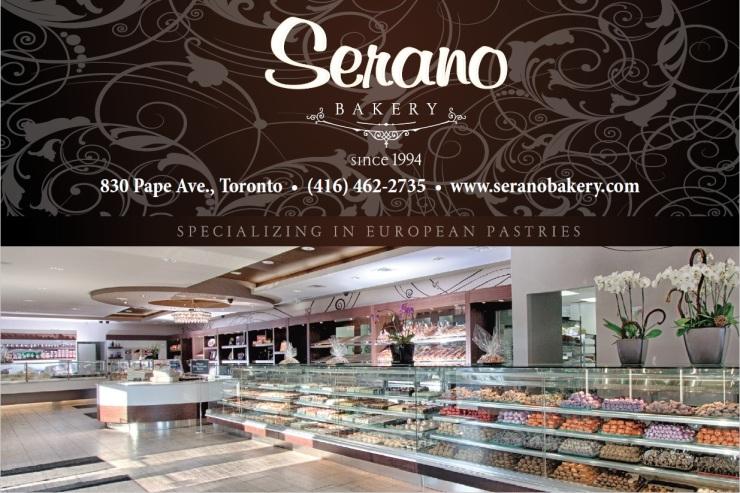 Serano Bakery Store Front Ad.